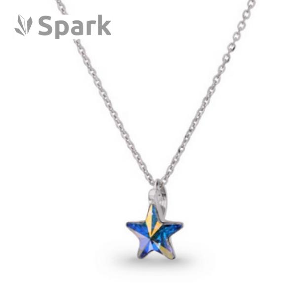 Necklace star Swarovski